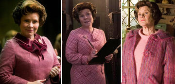 Harry Potter 5: Umbridges pinke Kostüm-Palette