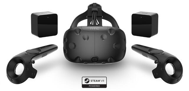 Das Virtual Reality-Kit Vive