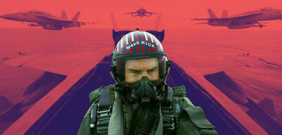 Tom Cruise in Top Gun 2