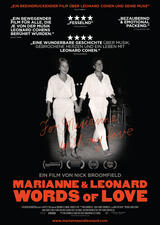 Marianne & Leonard: Words of Love - Poster