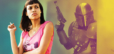 Dann aber ohne Kippe: Rosario Dawson in Death Proof/The Mandalorian