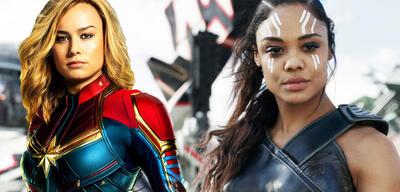 Captain Marvel/Valkyrie in Thor 3: Tag der Entscheidung