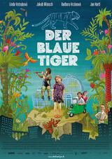 Der blaue Tiger - Poster
