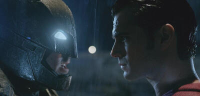 Batman v Superman, mit Ben Affleck & Henry Cavill