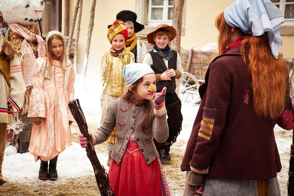 Die kleine Hexe mit Amelie Elisa Klein