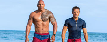 Dwayne Johnson in Baywatch