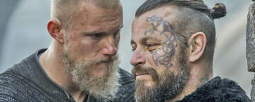 Björn und Harald aus Vikings