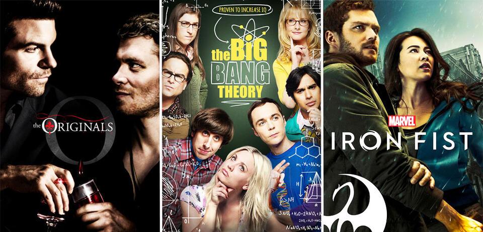 The Originals/The Big Bang Theory/Marvel's Iron Fist