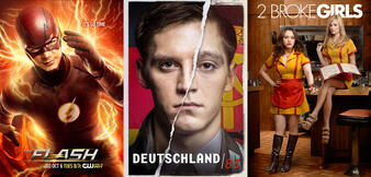 The Flash, Deutschland 83, 2 Broke Girls