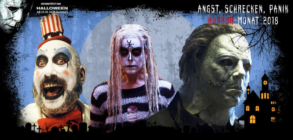 Haus der 1000 Leichen/The Lords of Salem/Halloween