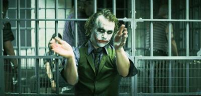 Ein ehrliches Klatschen? Der Joker in The Dark Knight