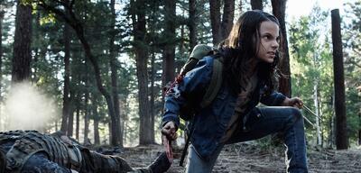Dafne Keen als Laura alias X-23