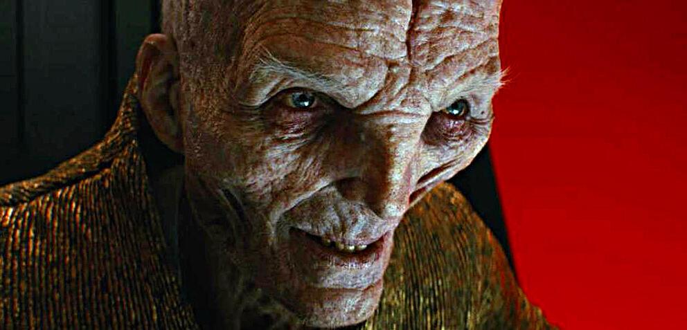 Oberster Anführer Snoke in Episode VIII
