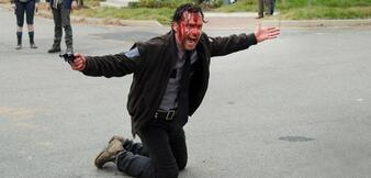 Andrew Lincoln als Rick in The Walking Dead