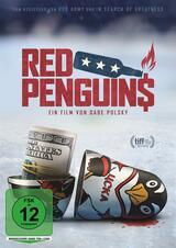 Red Penguins - Poster