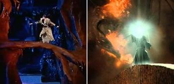 Der Herr der Ringe im Vergleich: Moria und die Brücke von Khazad-dûm