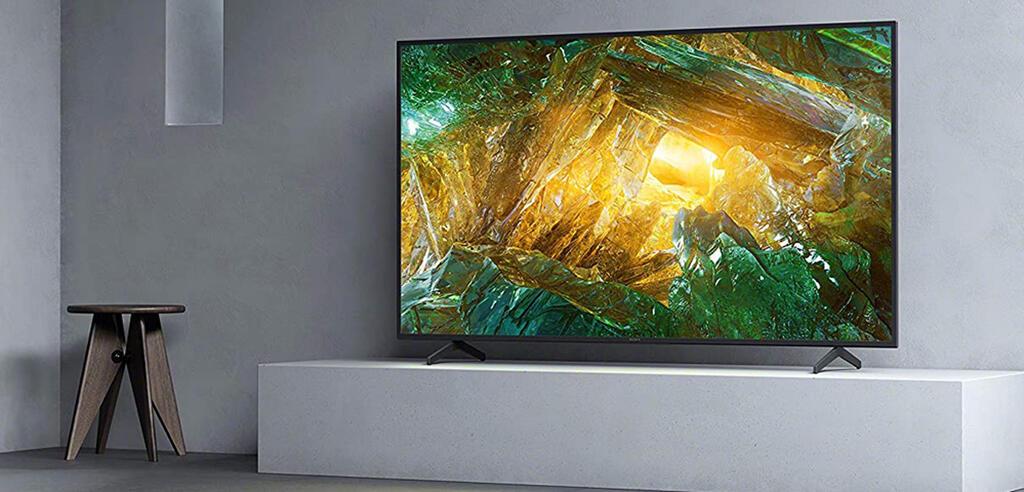 Der Bravia 4K Fernseher mit einer Bilddiagonale von 190 cm