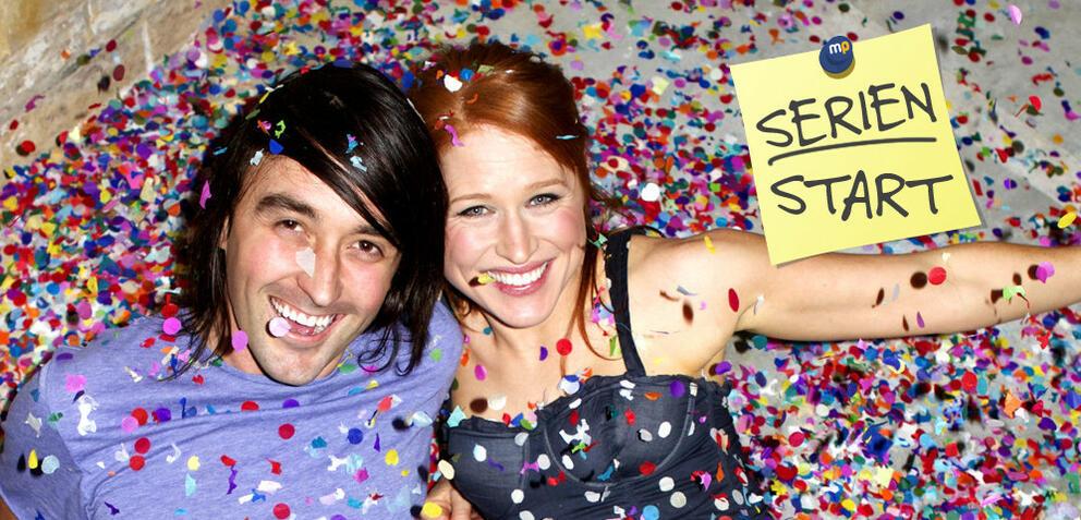 Josh Schmidt und Jess Harris in Twentysomething