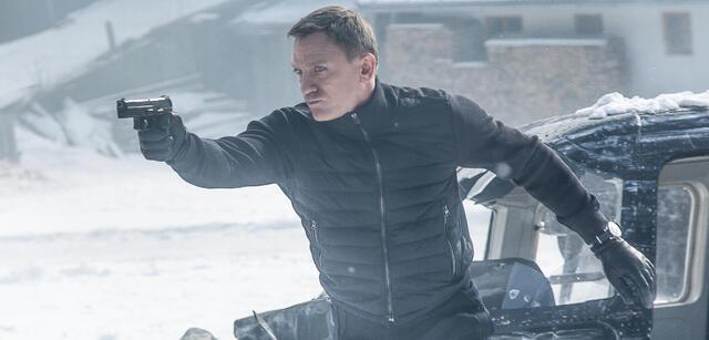 James Bond - Daniel Craig in Spectre
