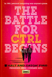 Halt and Catch Fire - Poster