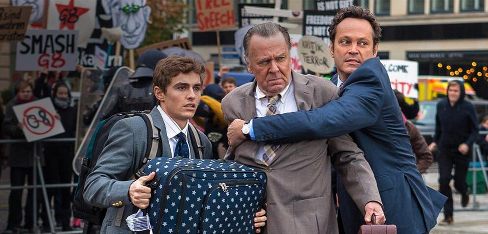 Dave Franco, Tom Wilkinson und Vince Vaughn in Big Business