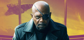 Bild zu:  Samuel L. Jackson als Nick Fury