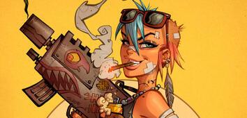 Tank Girl (Comic) Bildergalerie Detail-Ansicht