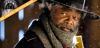 Samuel L. Jackson in The Hateful 8