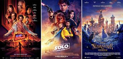 Bad Times at the El Royale,Solo: A Star Wars Story,Der Nussknacker und die vier Reiche
