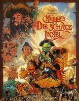 Muppets - Die Schatzinsel - Poster