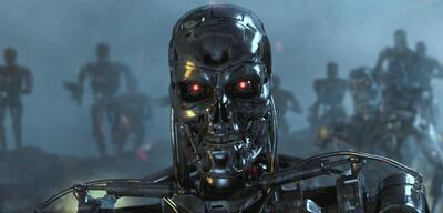 Nicht nur auf der Kinoleinwand: Ein Terminator