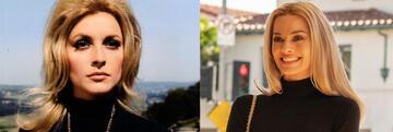 Sharon Tate in Die Schwarze 13 / Margot Robbie in OUATIH
