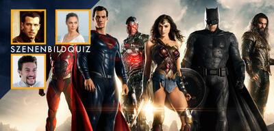 Justice League -Die Stars im Szenenbild-Quiz