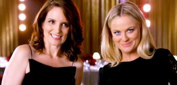 Bild zu:  Tina Fey und Amy Poehler präsentieren die 72. Golden Globes