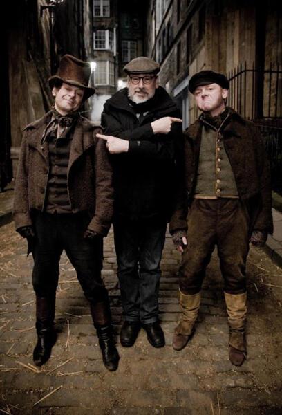 Burke & Hare - Wir finden immer eine Leiche mit Simon Pegg, Andy Serkis und John Landis