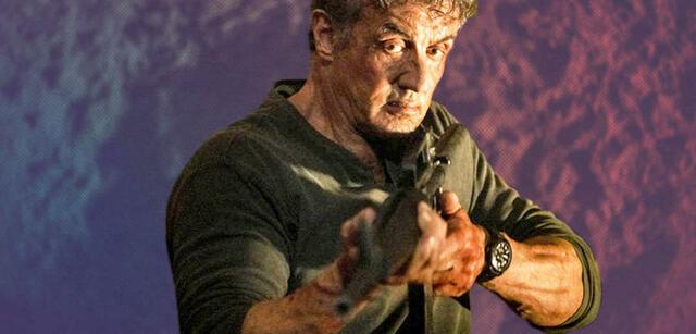 Sylvester Stallone als John Rambo