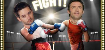 Bild zu:  Hugh Jackman vs. Tobey Maguire