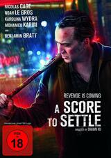 A Score to Settle  - Poster