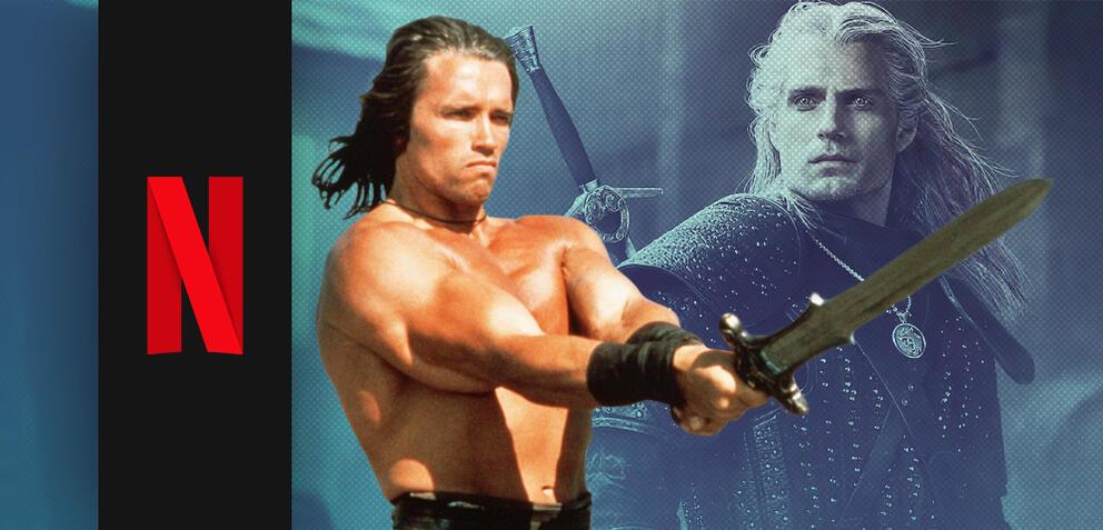 Conan der Barbar und The Witcher