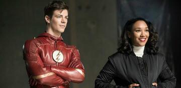 Barry und Iris in The Flash