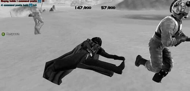 Darth Vader war in Battlefront 3 spielbar