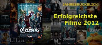 Top 25 der erfolgreichsten Filme 2012