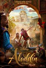 Aladdin Poster mit Will Smith als Dschinni