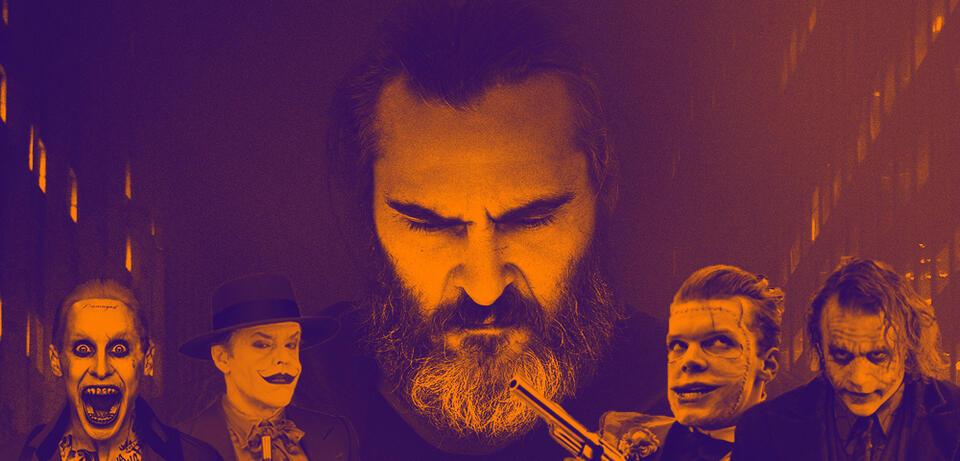 Joaquin Phoenix & diverse Joker