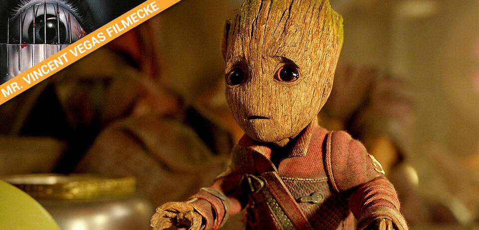 Baby Groot in Guardians of the Galaxy Vol. 2
