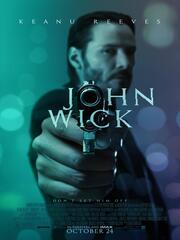 Poster zum ersten John Wick