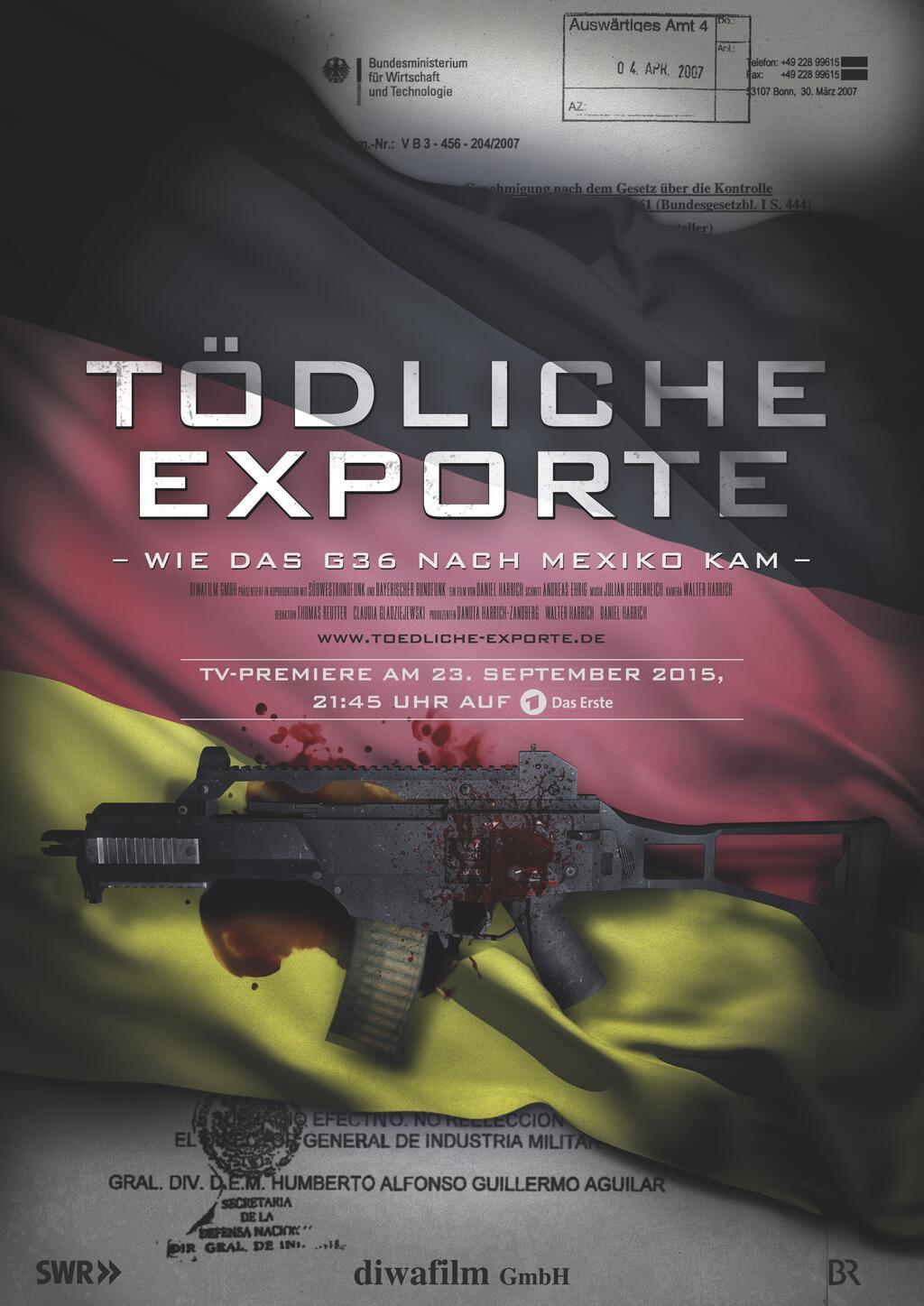 Tödliche Exporte - Wie das G36 nach Mexiko kam