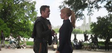 Tony Stark und Pepper Potts in Avengers 3: Infinity War