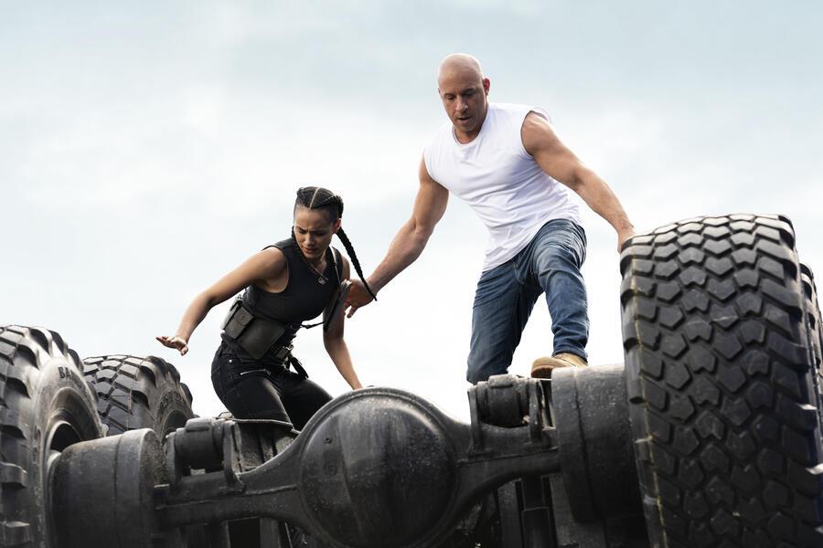 Fast & Furious 9 mit Vin Diesel und Nathalie Emmanuel