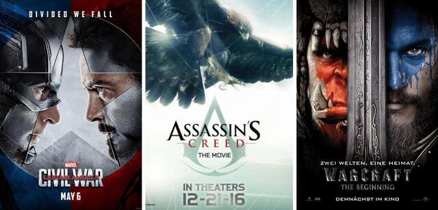 Aktuelle Actionfilme